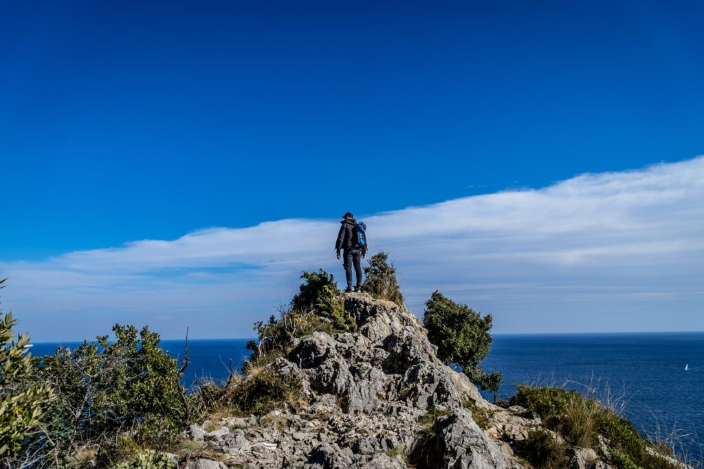 trekking il golfo dell'isola